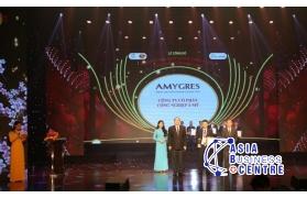 """Công ty CPCN Á Mỹ vinh dự đón nhận giải thưởng """"Top 10 Thương hiệu Chất lượng Châu Á"""""""