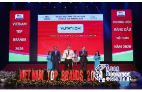 VUTATECH đạt Top 10 Thương hiệu hàng đầu Việt Nam năm 2020